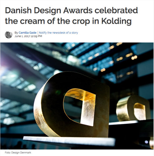 Danish Design Awards celebrated the cream of the crop in Kolding